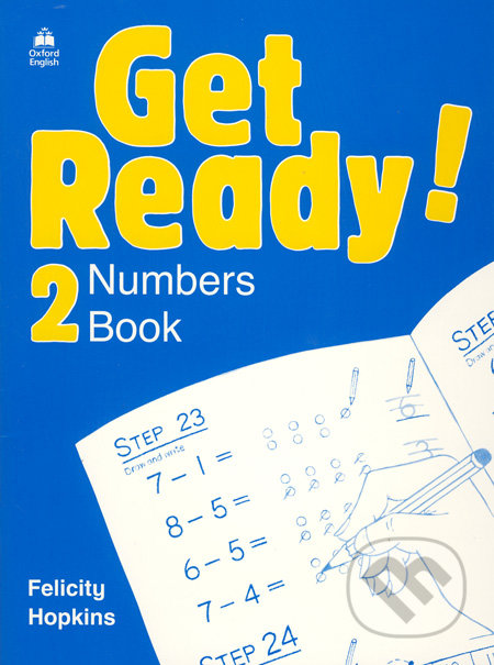 Get Ready! 2 - Numbers Book - Felicity Hopkins