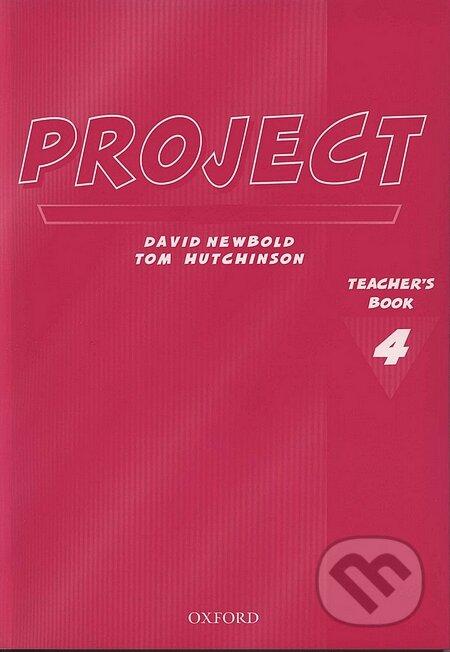 Project 4 - Teacher's Book - Tom Hutchinson