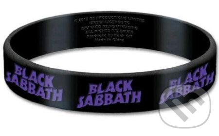 Silikónový náramok Black Sabbath: Logo - Black Sabbath