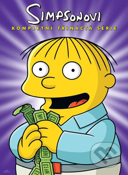 Simpsonovci - 13. séria (seriál) DVD