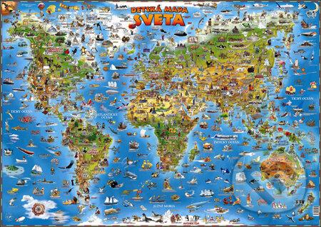 Fatimma.cz Detská mapa sveta Image