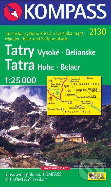 Bthestar.it Tatry - Vysoké, Belianske 1:25 000 Image