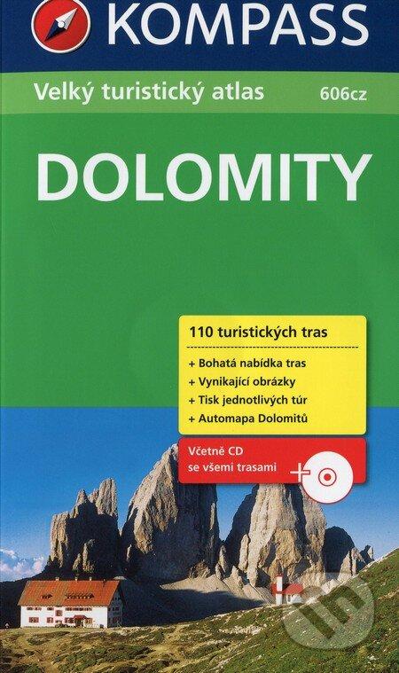Interdrought2020.com Dolomity - Velký turistický průvodce (606cz) Image