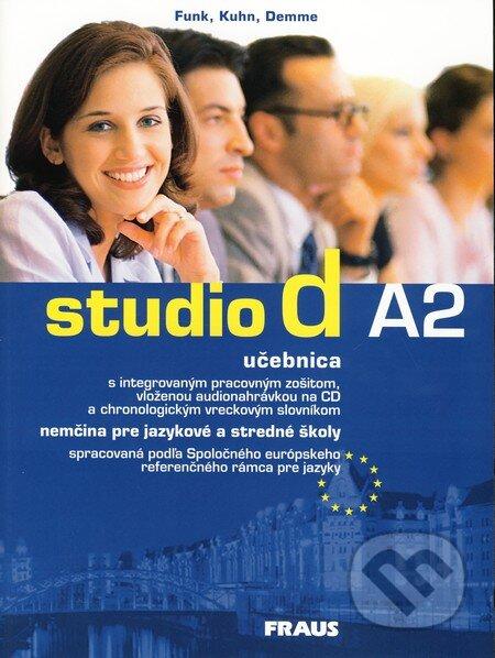 Studio d A2 - Nemčina pre jazykové a stredné školy - Hermann Funk, Christina Kuhn, Silke Demme