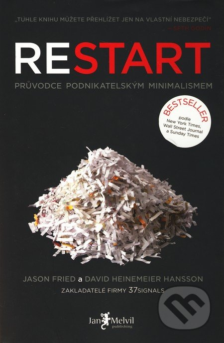 Restart - Jason Fried, David Heinemeier Hansson