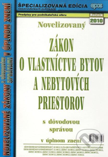 Peticenemocnicesusice.cz Novelizovaný Zákon o vlastníctve bytov a nebytových priestorov Image
