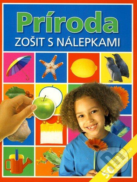 Peticenemocnicesusice.cz Príroda - Zošit s nálepkami Image