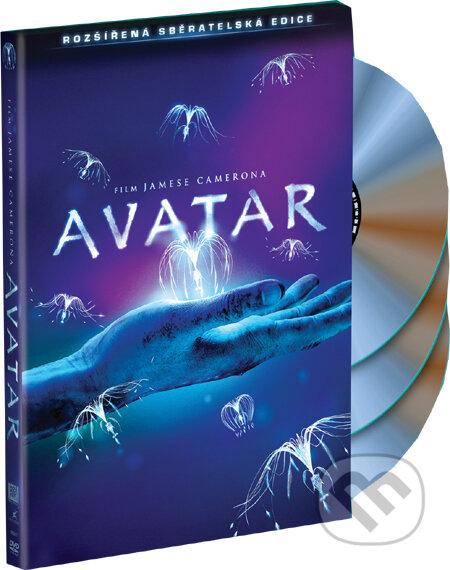 Avatar - rozšírená zberateľská edícia DVD