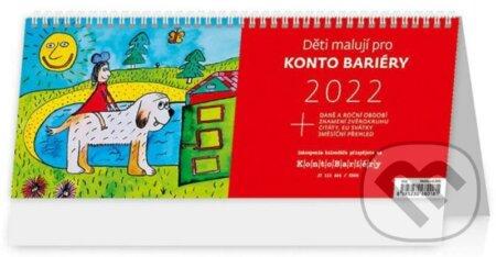 Děti malují pro Konto Bariéry - Helma365