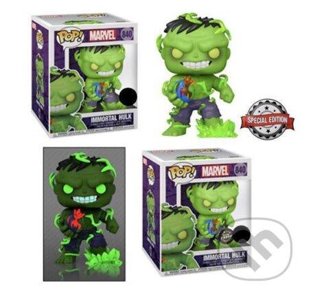 Funko POP Super: Marvel - Immortal Hulk exklusive special edition (s možností CHASE verze) - Funko