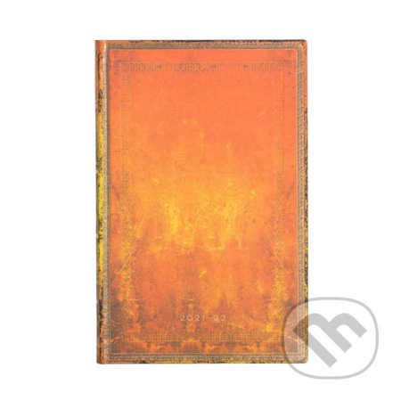Paperblanks - diár Clay Rust 2021/2022 - Hartley and Marks