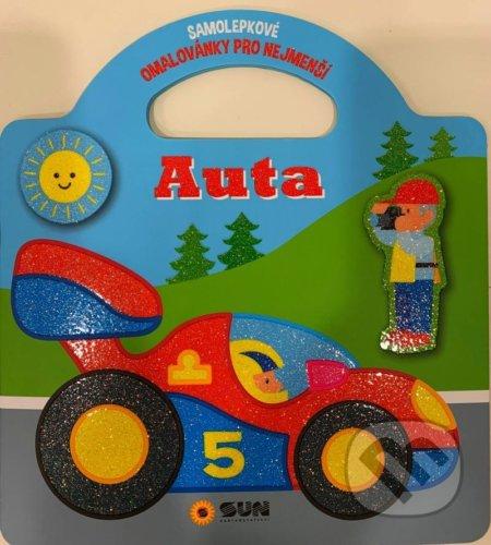 Auta - Samolepkové omalovánky - SUN