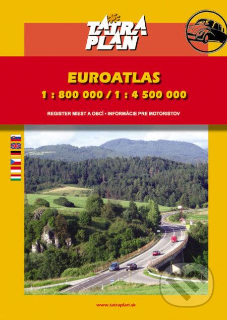 Autoatlas Európa 1:800 000 /1:4 500 000 - TATRAPLAN