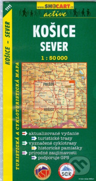 Interdrought2020.com Košice - Sever 1:50 000 Image