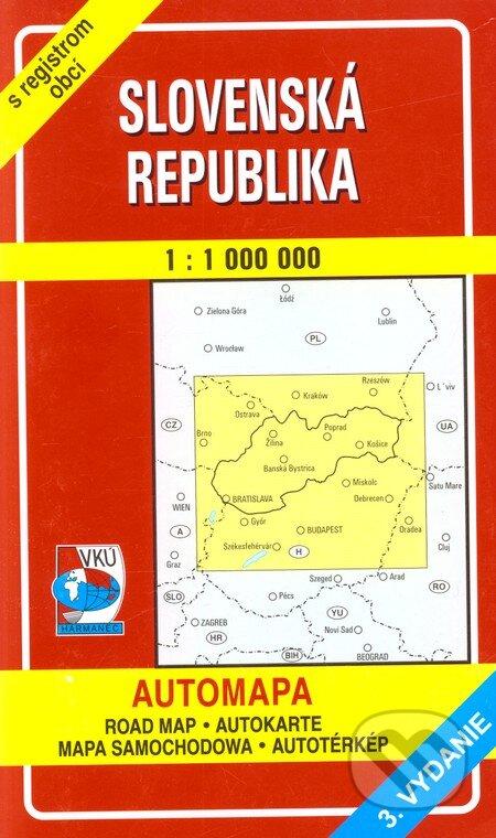 Bthestar.it Slovenská republika 1:1 000 000 Image