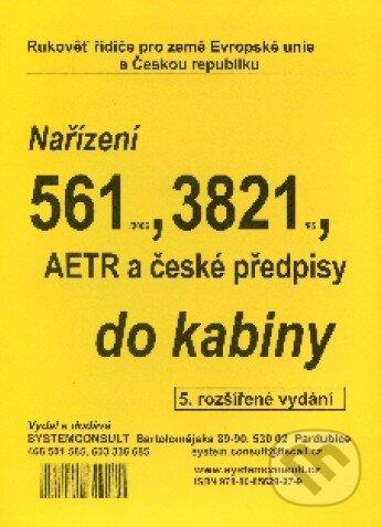 Fatimma.cz Nařízení 561/2006, 3821/85, AETR a české předpisy do kabiny Image