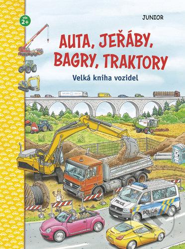 Auta, jeřáby, bagry, traktory - Junior