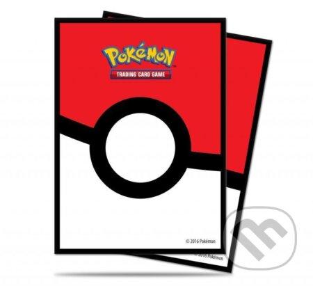 Pokémon: Deck Protector Master Ball obaly na karty - 65 kusů (červené) - ADC BF