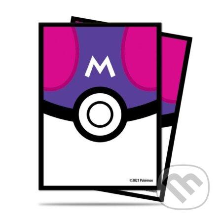 Pokémon: Deck Protector Master Ball obaly na karty - 65 kusů (fialové) - ADC BF