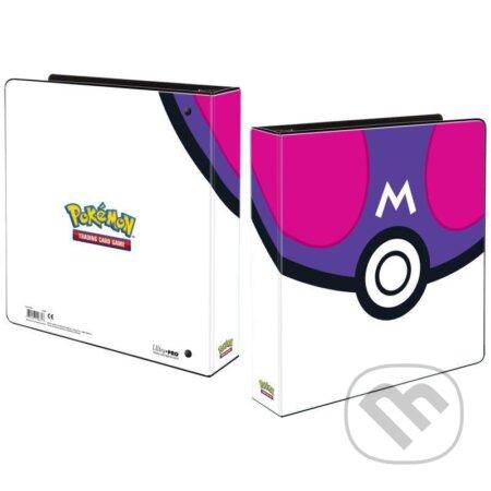 Pokémon: 3 kroužkový pořadač Master Ball na stránkové obaly - ADC BF