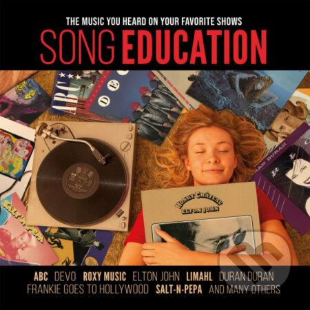 Song Education LP (Red Vinyl) - Hudobné albumy