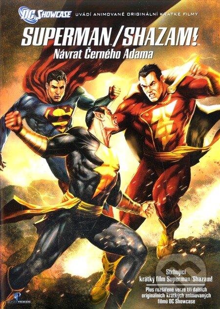 Superman / Shazam!: Návrat černého Adama DVD