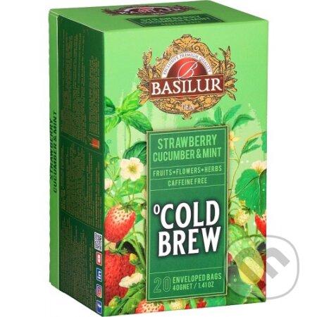 Basilur Strawberry Cucumber & Mint - Bio - Racio