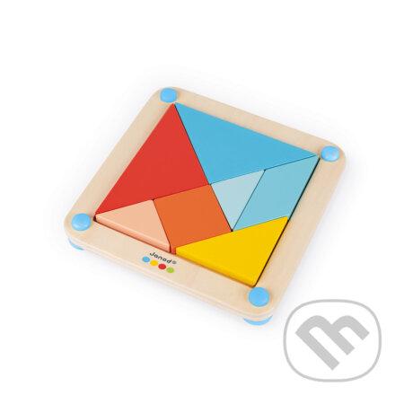 Origami Tangram s predlohami - Janod