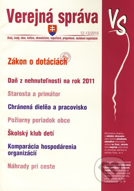 Fatimma.cz Verejná správa 12 - 13/2010 Image