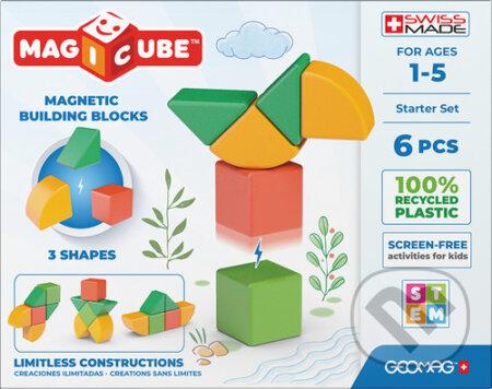 Stavebnice Magicube - Shapes 6 pcs - Geomag