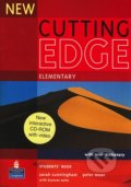 New Cutting Edge - Elementary: Student's Book + interactive CD-ROM with video - Sarah Cunningham, Peter Moor
