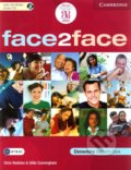 Face2Face - Elementary - Student's Book with CD-ROM / Audio CD - Chris Redston, Gillie Cunningham