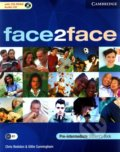 Face2Face - Pre-intermediate - Student's Book with CD-ROM / Audio CD - Chris Redston, Gillie Cunningham