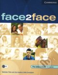 Face2Face - Pre-intermediate - Workbook with Key - Chris Redston, Gillie Cunningham