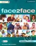 Face2Face - Intermediate - Student's Book with CD-ROM / Audio CD - Chris Redston, Gillie Cunningham
