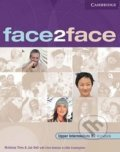Face2Face - Upper Intermediate - Workbook with Key - Gillie Cunningham, Chris Redston