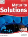 Maturita Solutions - Pre-Intermediate - Student´s Book - Tim Falla, Paul Davies
