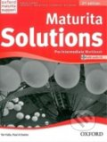 Maturita Solutions - Pre-Intermediate - Workbook + CD - Tim Falla, Paul Davies