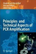 Principles and Technical Aspects of PCR Amplification - Elizabeth van Pelt-Verkuil
