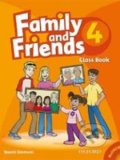 Family and Friends 4 - Class Book + MultiROM -