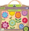Green Start Circle Garden Chunky Wooden Puzzle -