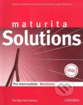 Maturita Solutions - Pre-Intermediate - Workbook - Tim Falla, Paul Davies