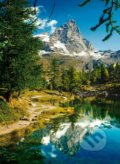 Matterhorn in the mirror the Blue Lake -