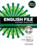 New English file - Intermediate - Students book + iTutor DVD-ROM Czech Edition - Clive Oxenden