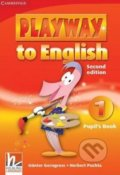 Playway to English 1 - Pupil's Book - Günter Gerngross