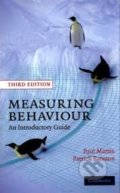 Measuring Behaviour - Paul Martin, Patrick Bateson
