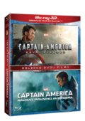 Captain America kolekce 3D - Anthony Russo, Joe Russo, Joe Johnston