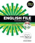 New English File - Intermediate: Student's Book with DVD-ROM and Online Skills - Clive Oxenden, Christina Latham-Koenig