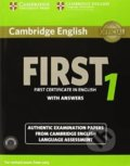 Cambridge English First 1: Student's Book Pack -