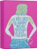 20 Notecards to Annoy Your Friends (or Make Them Smile) - Ana Benaroya